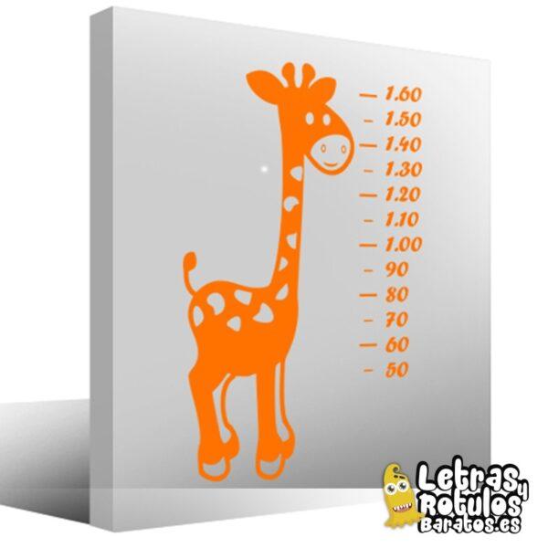 Jirafa para medir estatura