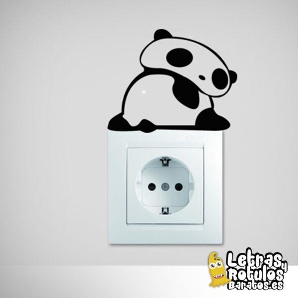 Osito Panda de espaldas