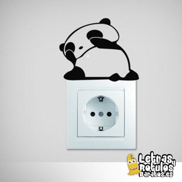 Osito Panda despertándose