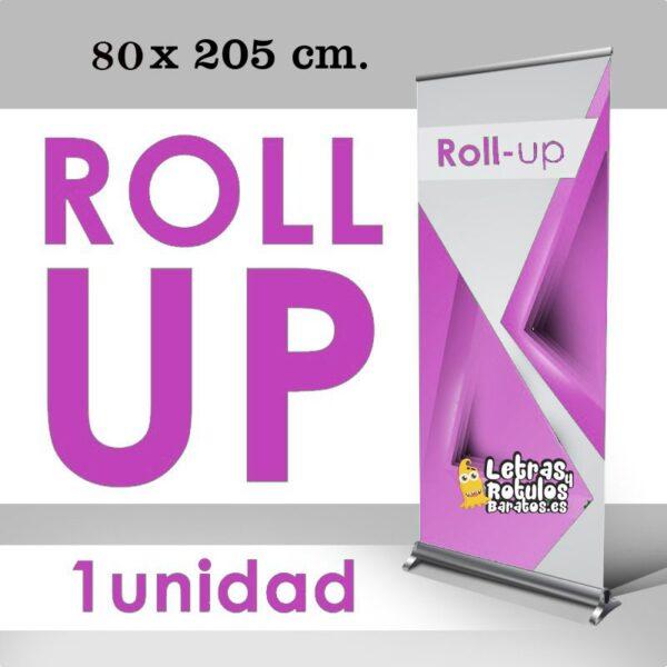 Roll up 85 x 205 cm. Gráfica personalizada