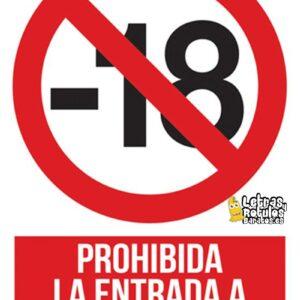 Prohibida La Entrada A Menores