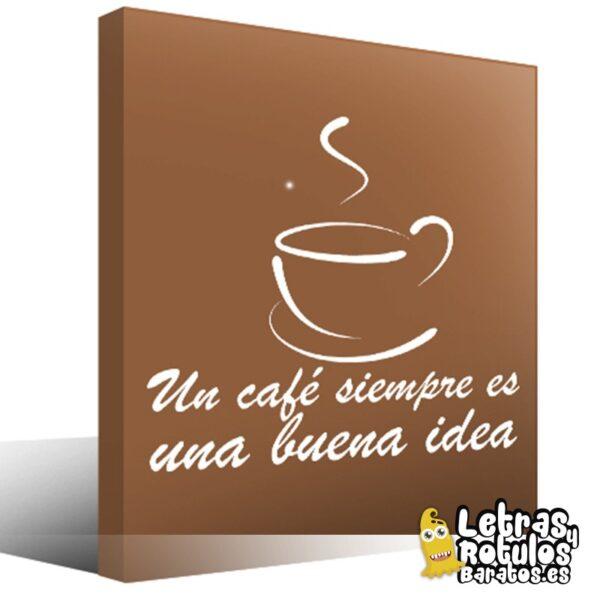 Un café siempre