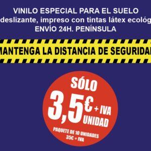 Vinilo Para Suelos Especial COVID19