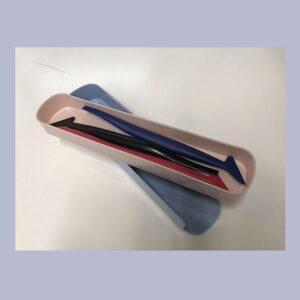 Herramienta especial para rotulación, ayuda a dejar un acabado perfecto.