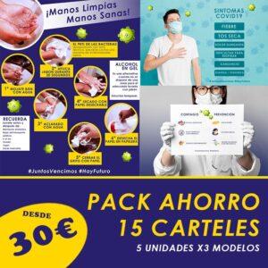 Pack Ahorro Carteles Especial COVID19