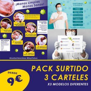 Pack Surtido Carteles Especial COVID19
