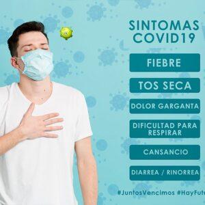Cartel Informativo Especial COVID19 Síntomas