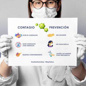 Cartel Informativo Especial COVID19 Prevención